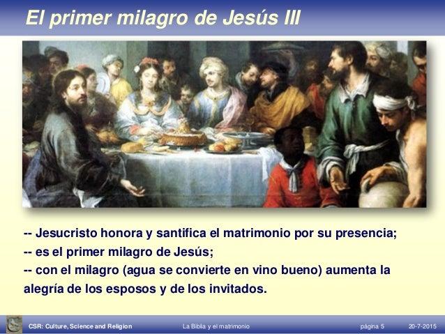 Jesus Matrimonio Biblia : Biblia y matrimonio