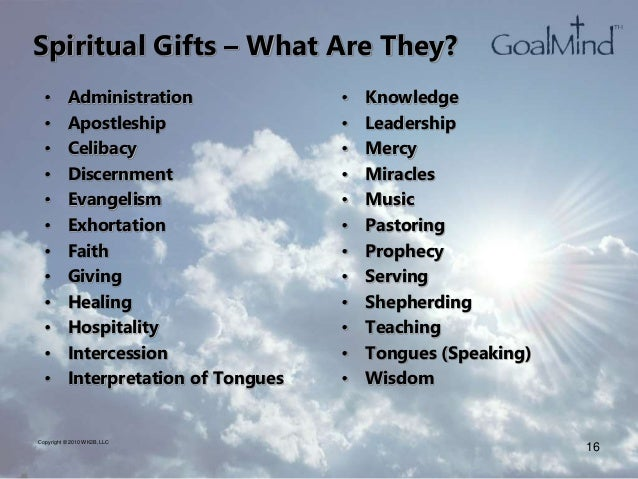 Biblical basis for a profitable business spiritual gifts negle Image collections