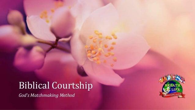 Biblical Courtship God's Matchmaking Method