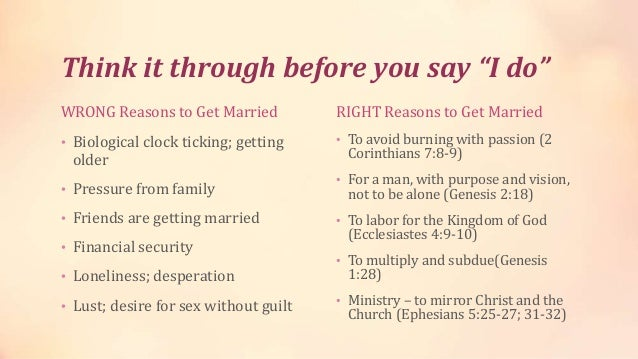 Bible and dating a married man