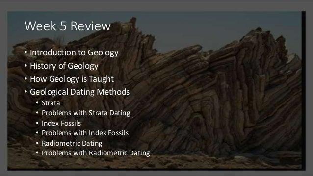 3 methods of radiometric dating