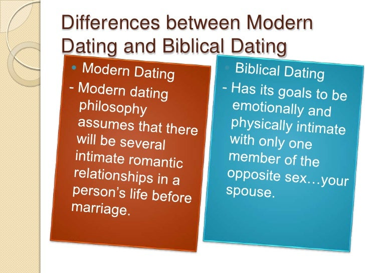 differences between courtship and dating
