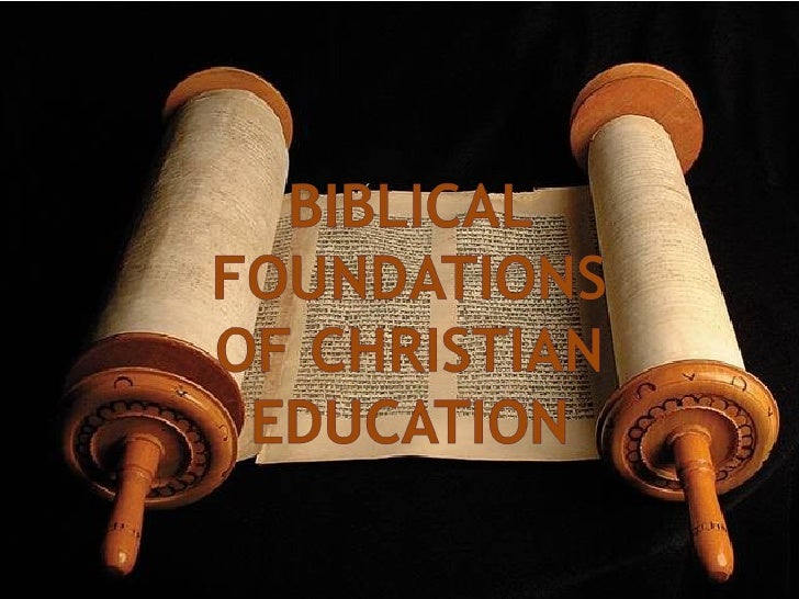 The Bible serves as the cornerstone of theological foundations and as the prolegomenon of the ...