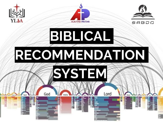 BIBLICAL RECOMMENDATION SYSTEM
