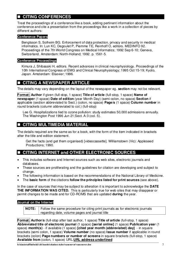 Petunjuk Daftar Pustaka Vancouver En