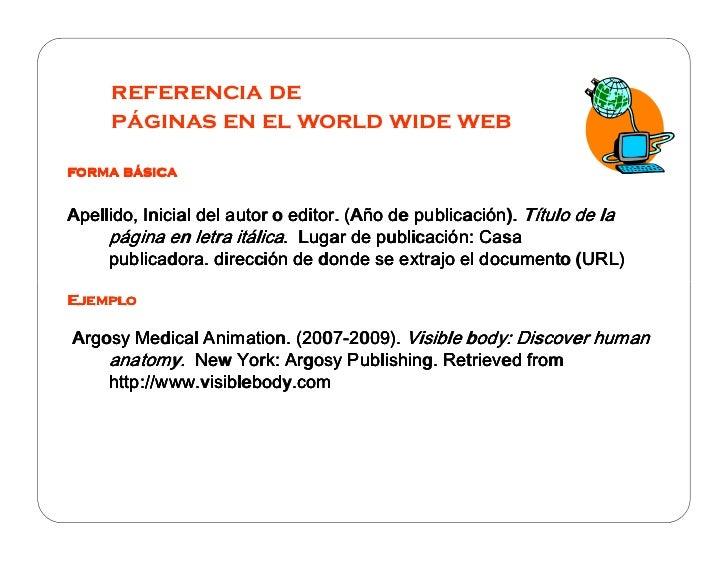 Bibliografia apa for Casa piscitelli pagina web