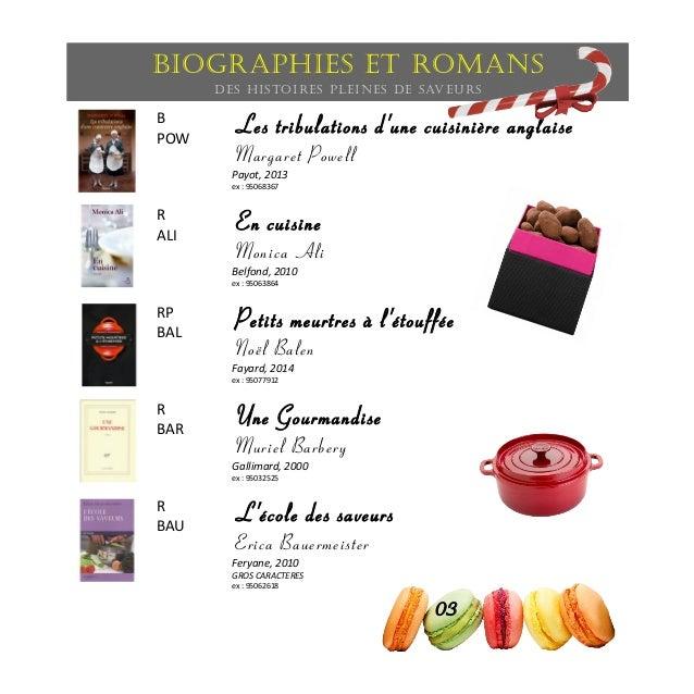 Biographies et romans Des histoires pleines de saveurs aveur B POW Les tribulations d'une cuisinière anglaise Margaret Pow...