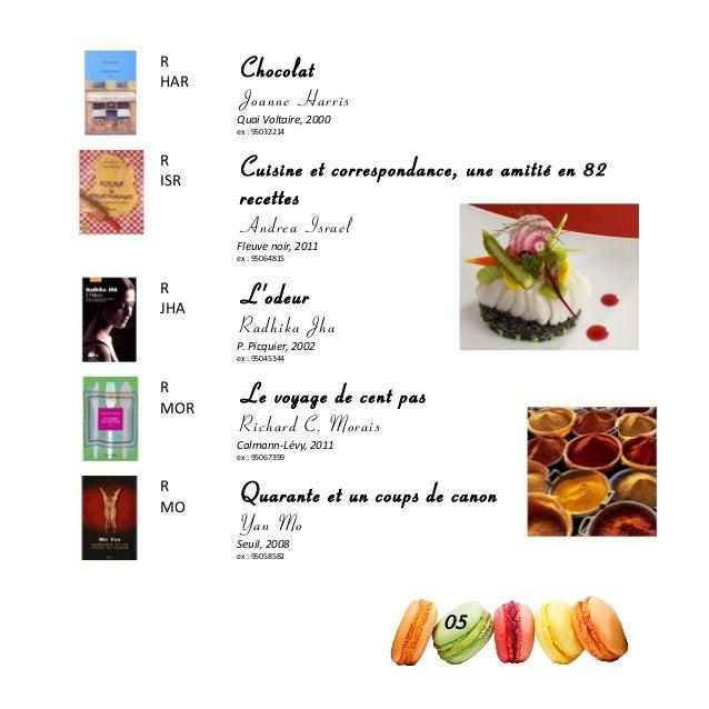 R HAR Chocolat Joanne Harris Quai Voltaire, 2000 ex : 95032214 R ISR Cuisine et correspondance, une amitié en 82 recettes ...