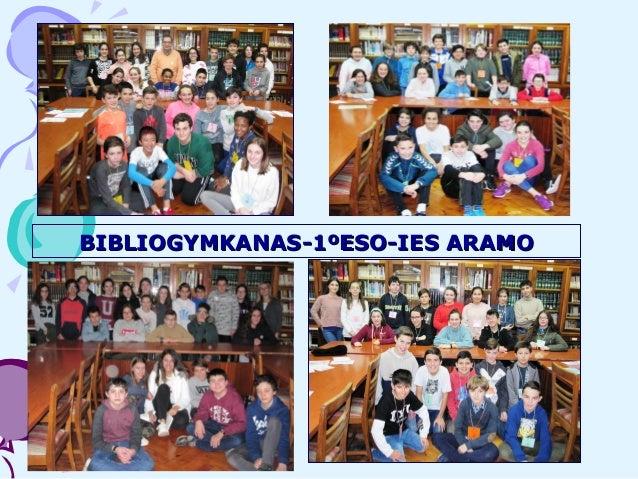 BIBLIOGYMKANAS-1�ESO-IES ARAMOBIBLIOGYMKANAS-1�ESO-IES ARAMO