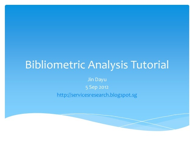 Bibliometric Study Research Papers - Academia.edu