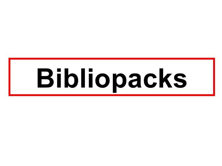Bibliopacks