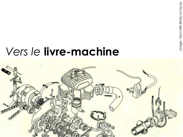 Vers le livre-machine           Image : twm1340 (flickr) cc-by-sa