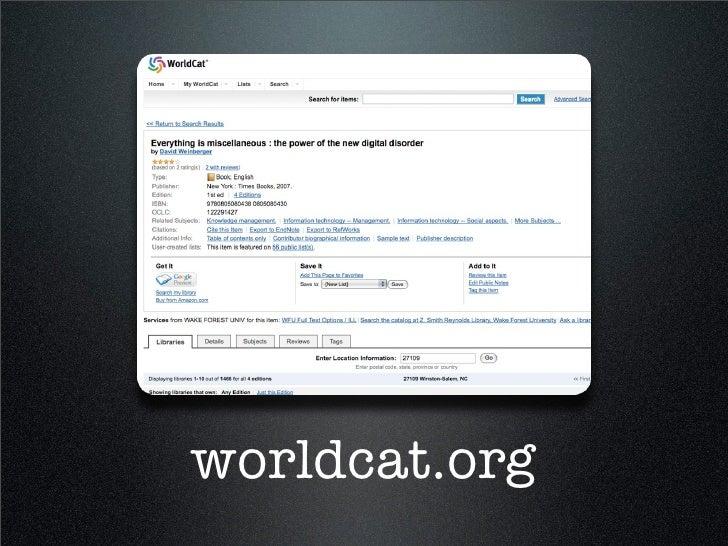 Biblio Social Software