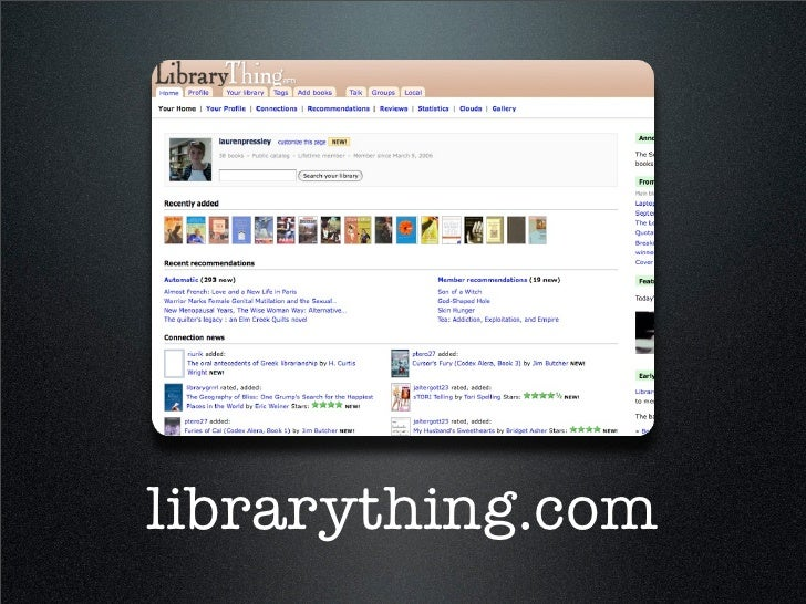 librarything.com