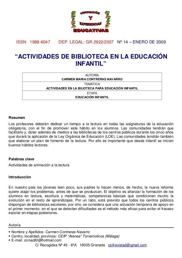 ISSN 1988-6047 DEP. LEGAL: GR 2922/2007 Nº 14 – ENERO DE 2009 C/ Recogidas Nº 45 - 6ºA 18005 Granada csifrevistad@gmail.co...