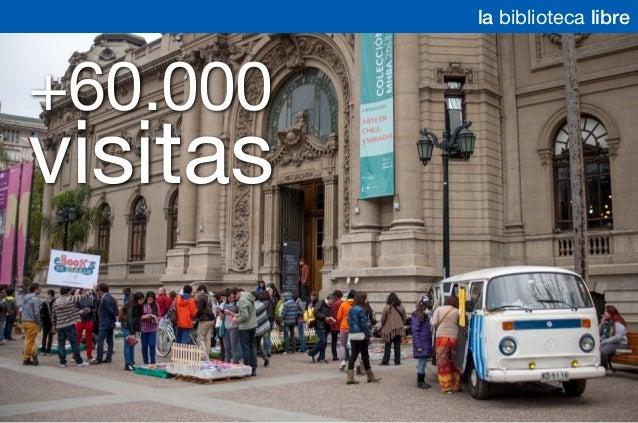 +60.000 visitas la biblioteca libre