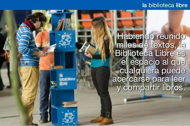 Biblioteca Libre - Septiembre 2014 Slide 3