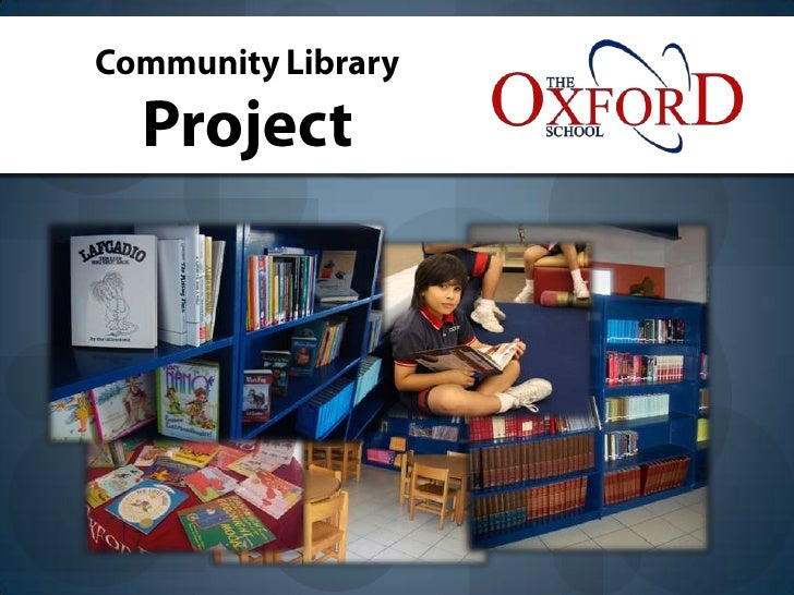 Community Library<br />Project<br />