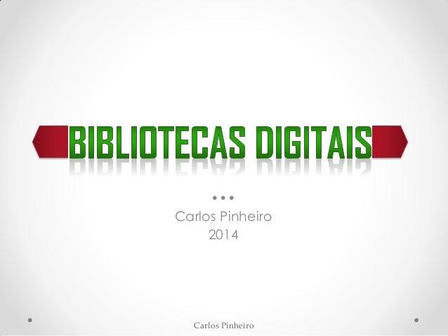 Carlos Pinheiro ••• Carlos Pinheiro 2014