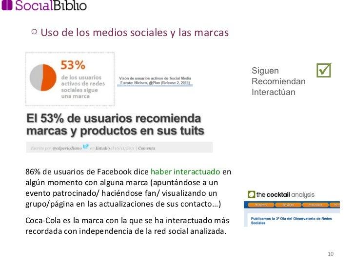 86% de usuarios de Facebook dice  haber interactuado  en algún momento con alguna marca (apuntándose a un evento patrocina...