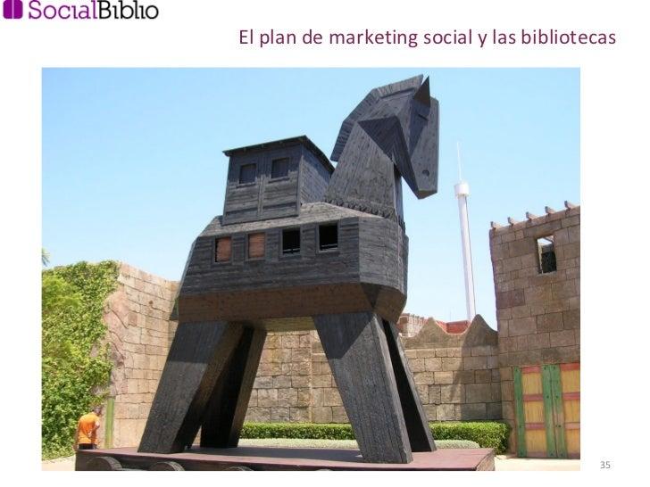 El plan de marketing social y las bibliotecas