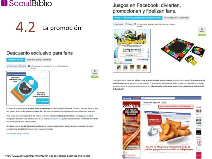 La promoción 4.2  http://www.cmo.com/gaming/gamification-serious-business-marketers