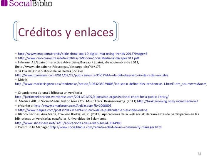 <ul><li> http://www.cmo.com/trends/slide-show-top-10-digital-marketing-trends-2012?image=5 </li></ul><ul><li>http://www.cm...