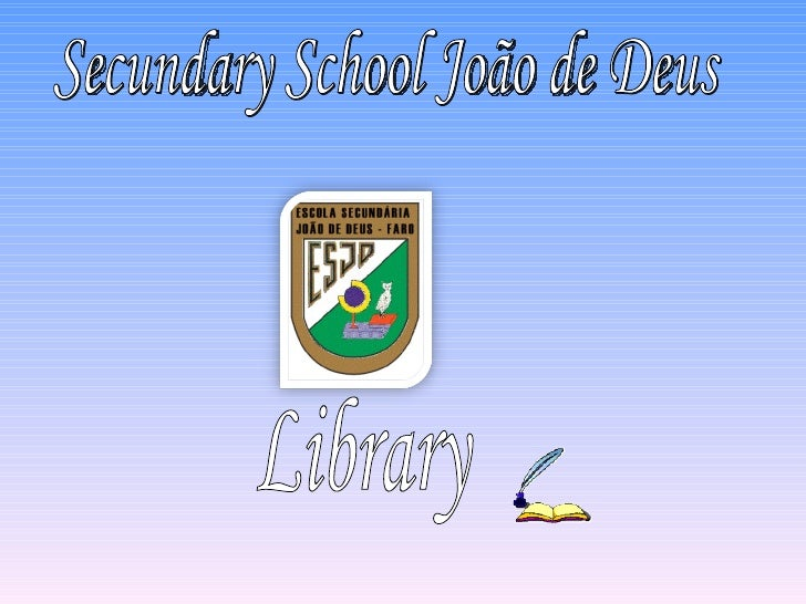 The Library follows CDU   (Setting in order by subjects according to the          Classification Decimal Universal)• List ...