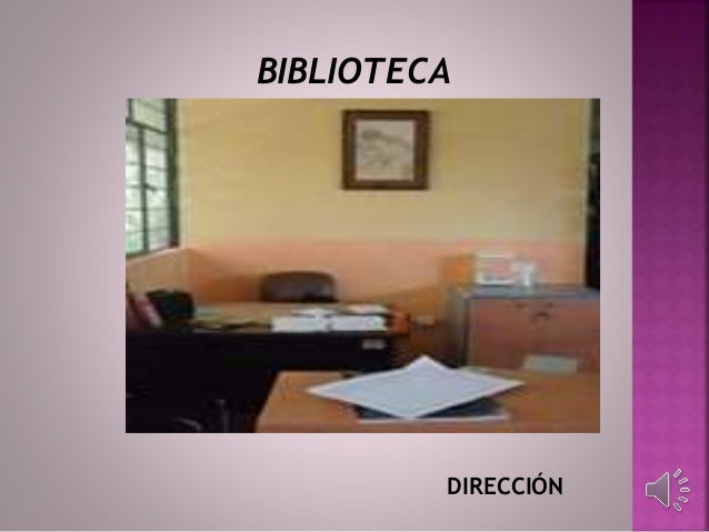 DIRECCIÓN BIBLIOTECA
