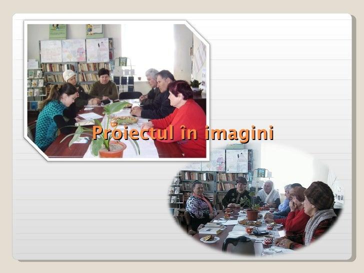 Proiectul în imagini