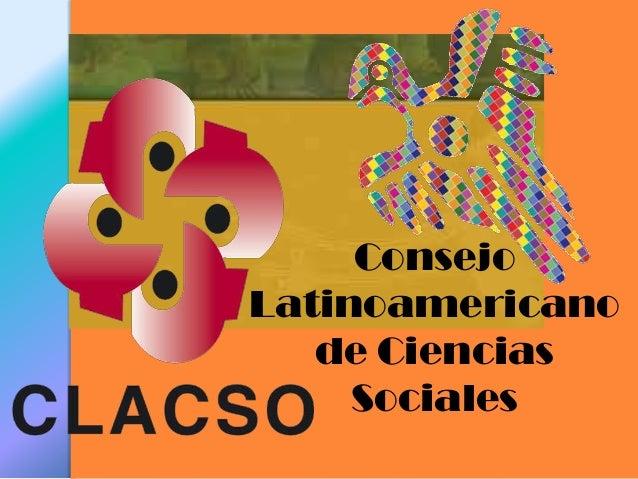 Consejo Latinoamericano de Ciencias Sociales