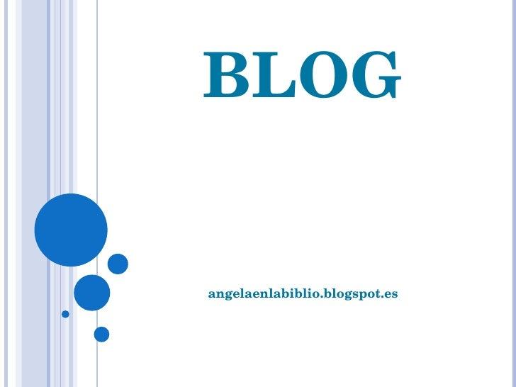 BLOG angelaenlabiblio.blogspot.es