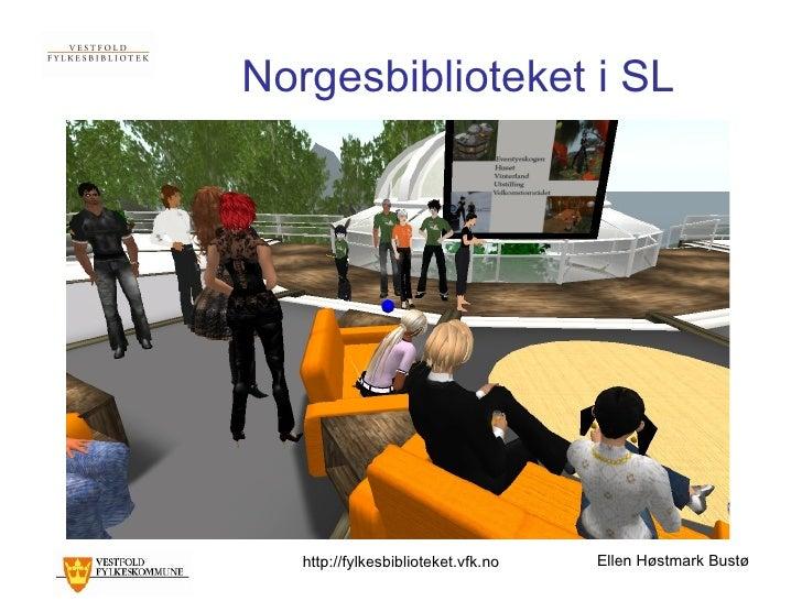 Norgesbiblioteket i SL