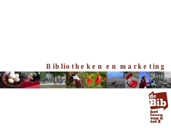 Bibliotheken en marketing