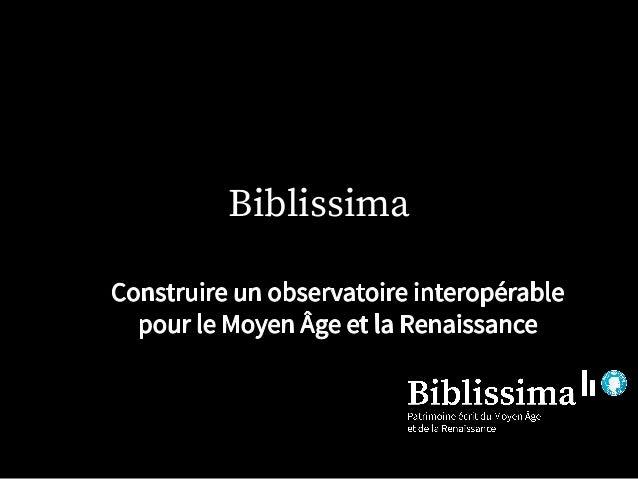 Biblissima