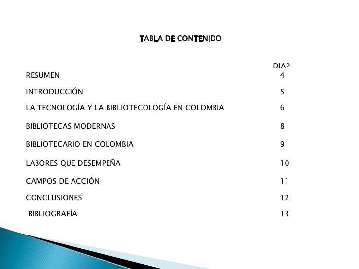 Biblitecología en colombia presentación Slide 3