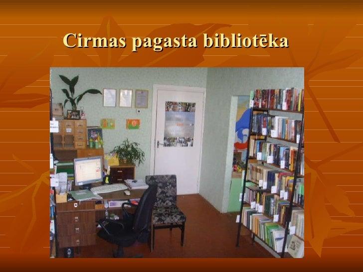 Cirmas pagasta bibliotēka