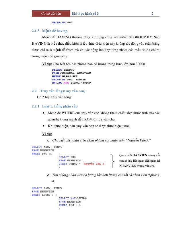 csdl bai-thuchanh_03.04 Slide 2
