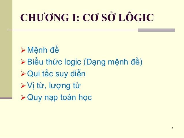 chuong 1. co so logic Slide 2
