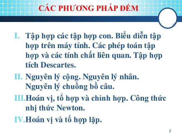 chuong 2. phep dem Slide 2
