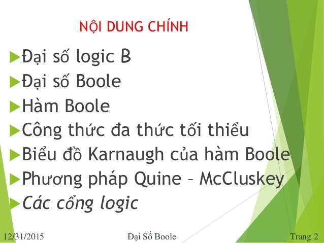 chuong 4.  dai so boole Slide 2