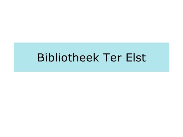Bibliotheek Ter Elst