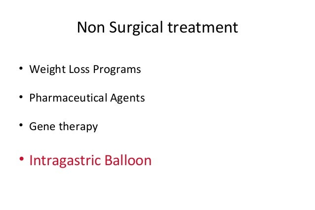 Intragastric Balloons For Treatment Of Obesity