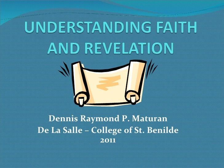 Dennis Raymond P. Maturan De La Salle – College of St. Benilde 2011