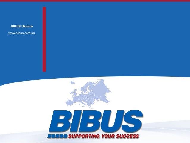 BIBUS Ukraine www.bibus.com.ua