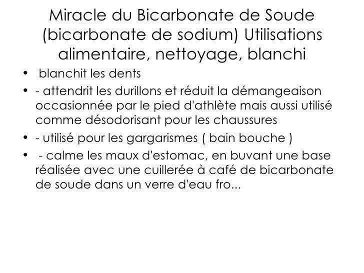Bicarbonate de soude for Nettoyage argenterie bicarbonate de soude