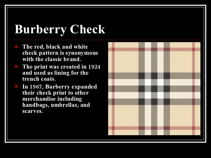 Burberry Power Point