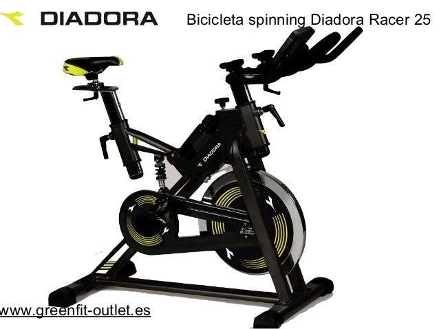 Bicicleta spinning Diadora Racer 25www.greenfit-outlet.es