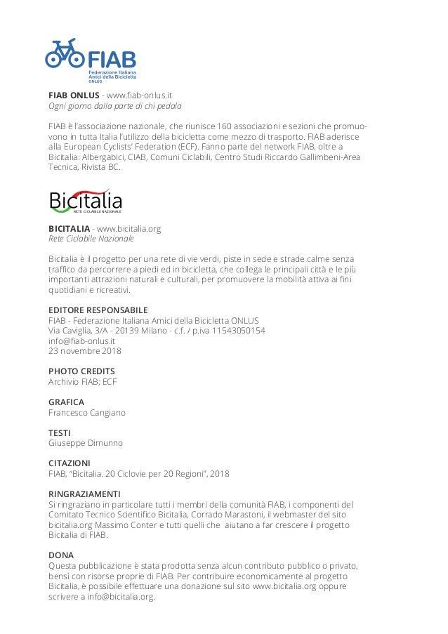 Bicitalia. 20 ciclovie per 20 regioni Slide 2