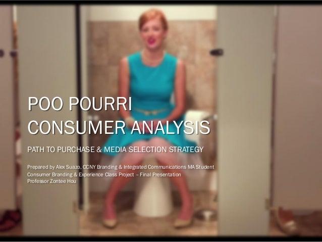 poo pourri consumer profile path to purchase marketing strategy